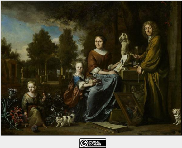 Portrait of Agnes Block and Family