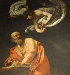 San Matteo by Caravaggio