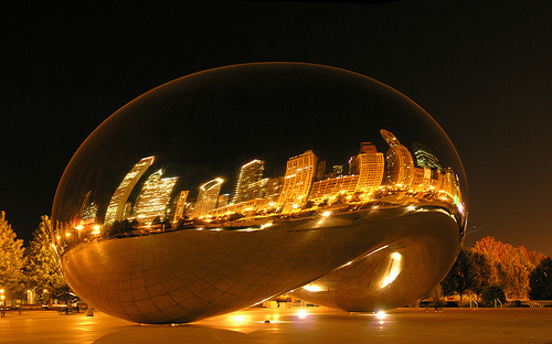 Cloud Gate. Different perspectives.