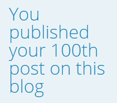 100 blog posts ContentRambler